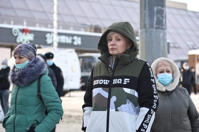 Юлия Сударенко вторые выходные приходит на несогласованные митинги, чтобы проследить, нарушают права челябинцев или нет