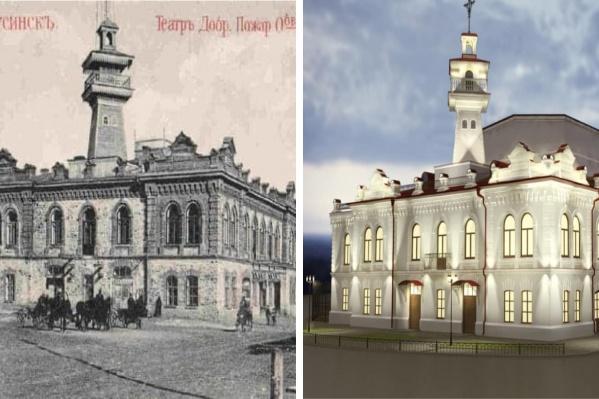 Здание приведут в порядок к 200-летнему юбилею города