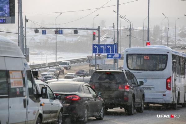В столице Башкирии уже не в первый раз за месяц бушует непогода
