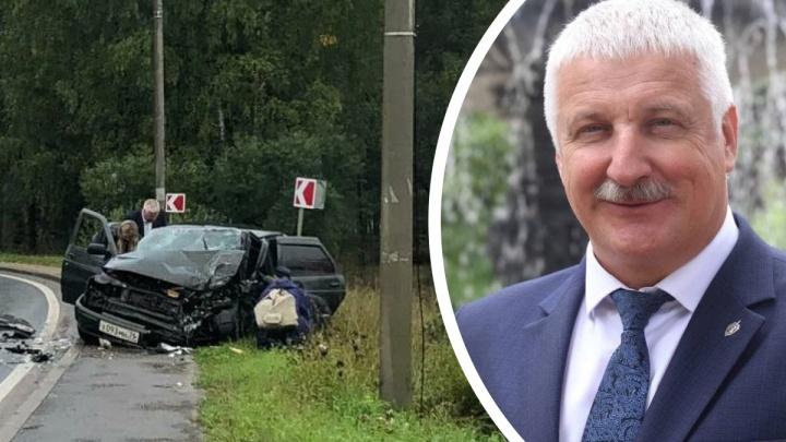«Виноват я»: мэр Рыбинска рассказал, как на своем «Лексусе» врезался в «десятку»