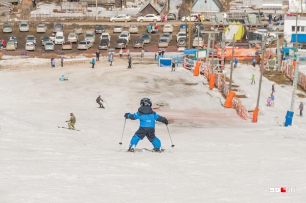 На восточном склоне появится школа для детей и начинающих лыжников