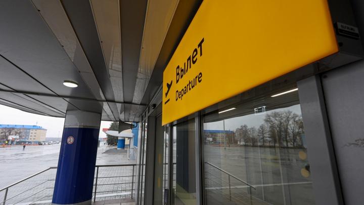 В челябинском аэропорту из-за проблем с регистрацией задерживается самолет из Москвы