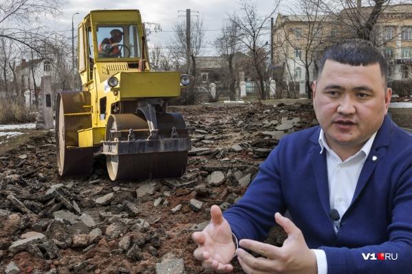 Ирсаин Назаров утверждает, что поставлял щебень а не смесь из бетонных обломков и кирпича
