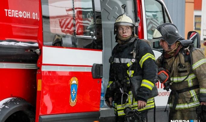 Названа причина пожара на складе наКалинина