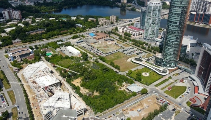 В УГМК пообещали сохранить исторический сад Казанцева в центре мегаквартала «Екатеринбург-Сити»