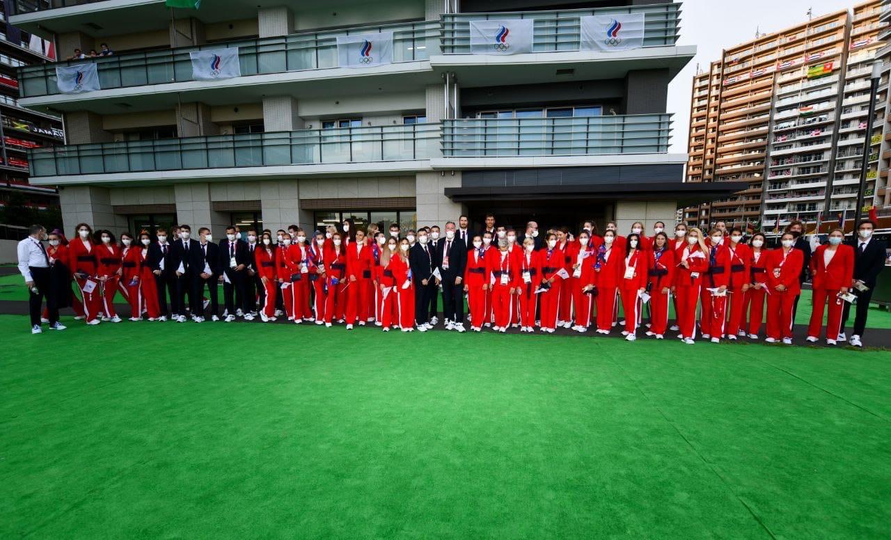 Делегация сборной России готова к церемонии открытия!