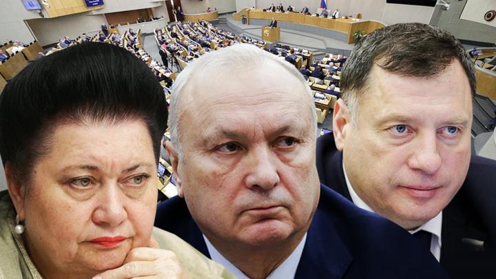 Пенсионный возраст, обнуление и бытовое насилие: что напринимали депутаты Госдумы от Красноярского края за 5 лет