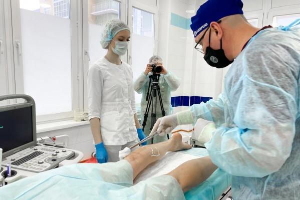 Уникальная процедура прошла в российско-финском медицинском центре TERVE