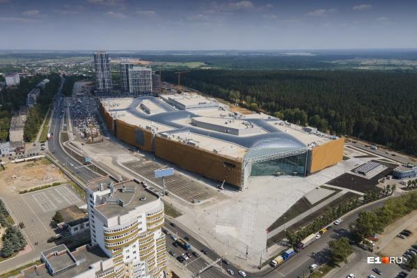 Новый торговый центр в Екатеринбурге откроется 1 июня