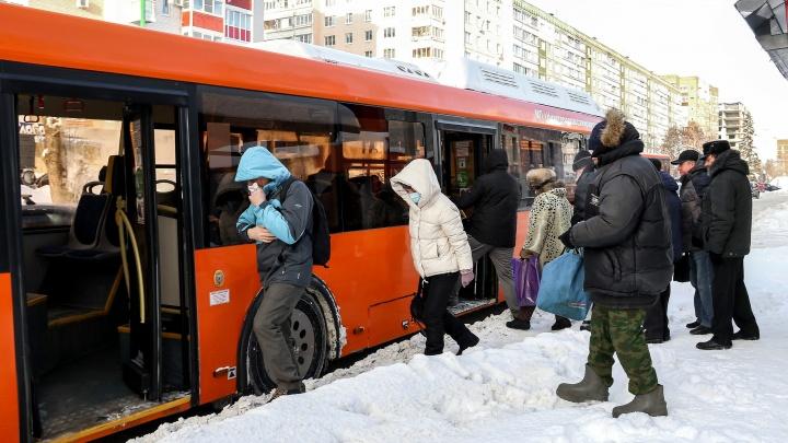 Минтранс рассказал NN.RU, почему невозможно дождаться автобусов на остановках