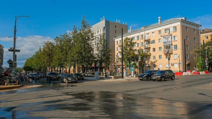 В Перми из-за ремонта перекроют движение на Комсомольском проспекте