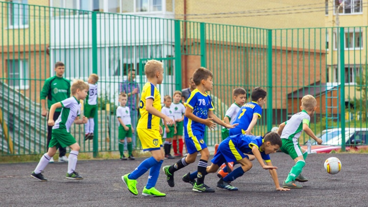 Футбол — это весело: за кубок по мини-футболу сразились дошколята и младшие школьники