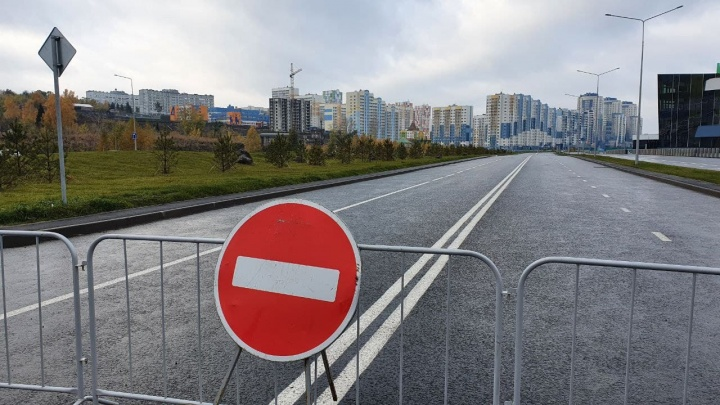 Первый этап строительства дороги-дублера Притомского в Кемерове завершен