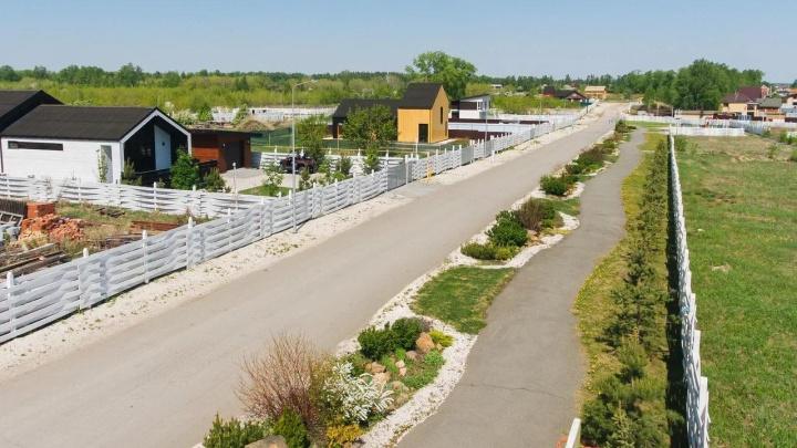 В одном из самых красивых поселков региона открыли продажу земельных участков