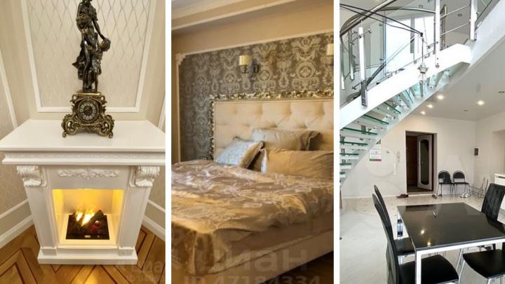 Камины, дизайнерский ремонт, эксклюзивное расположение: самые шикарные квартиры в аренду в Ярославле