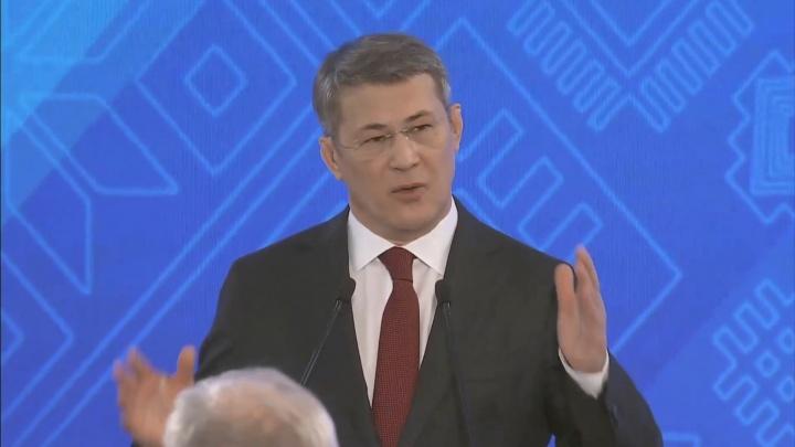 Радий Хабиров обратился с посланием к Курултаю: собрали самое главное из его выступления
