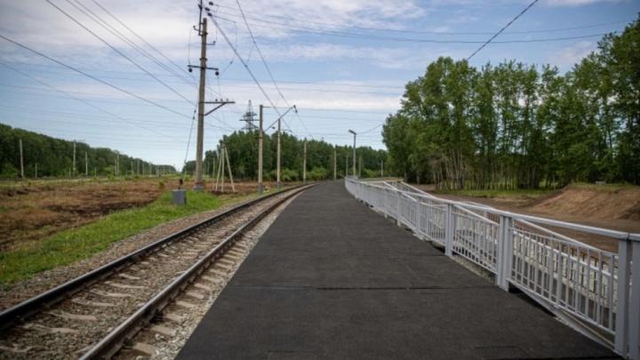 Минтранс перенес дату запуска городской электрички до Пригородного простора