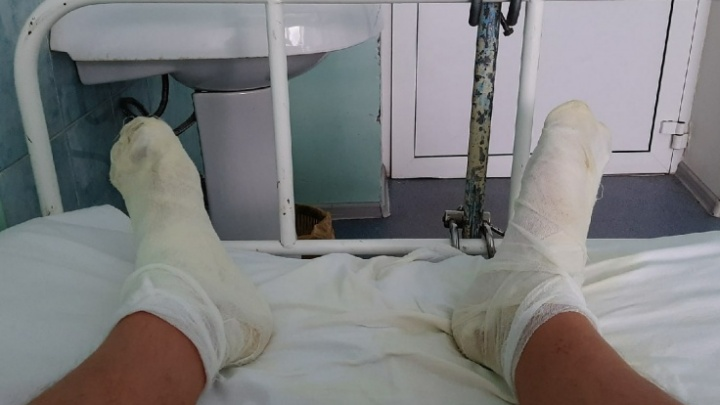 В Рыбинске из-за лопнувшей трубы людям обварило ноги: как это объяснили тепловики