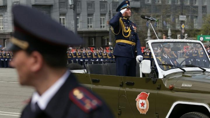 Из-за генеральной репетиции парада в центре Челябинска на три часа перекроют движение