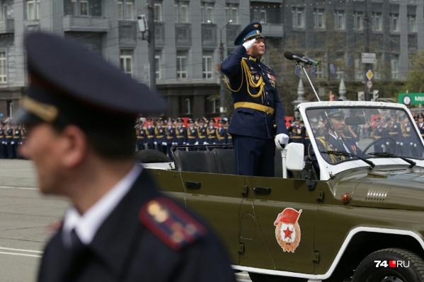 Часть техники пройдет по площади Революции, часть — по проспекту Ленина