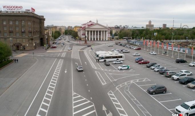 В Волгограде начался сезон рисования дорожной разметки