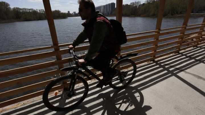 В Челябинске закрыли Ленинградский мост. Пересаживаемся на велосипеды?