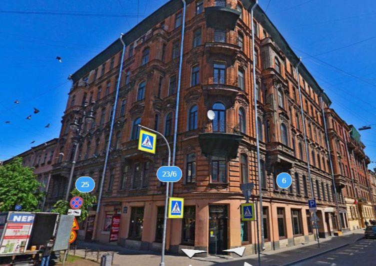 Маяковского, 23<br><br>скриншот с сайта «Яндекс.Карты»
