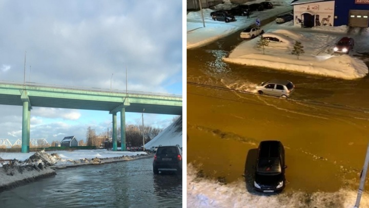 Ярославль затопило: фото и видео ушедших под воду улиц