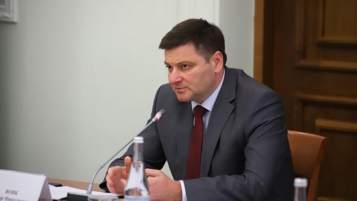 Голубев уволил своего зама по транспорту и строительству