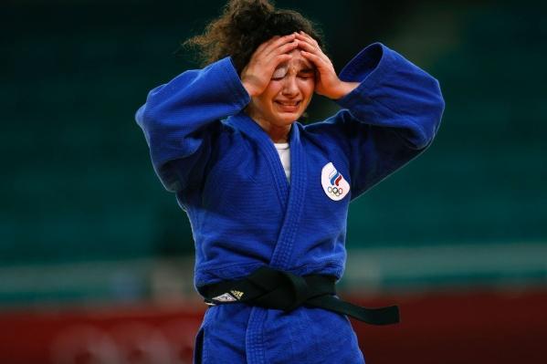 Мадина призналась, что на протяжении всего дня выходила, чтобы бороться за победу — это было ее главной целью
