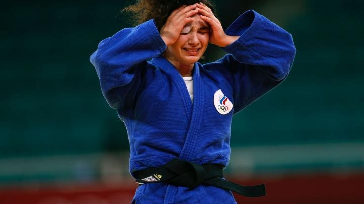 Мадина Таймазова принесла России первую медаль в дзюдо. Посмотрите, как отчаянно она боролась