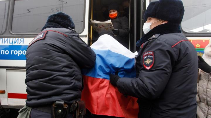 Суд в Волгограде арестовал двух участников протестной акции