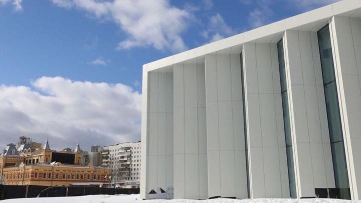 Новый павильон Нижегородской ярмарки откроется в апреле