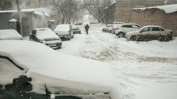 Берегись! В Самарской области похолодает до -38 градусов
