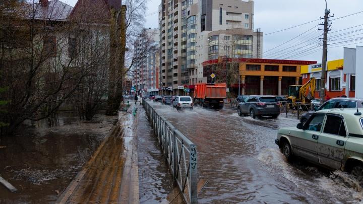После аварии на «тысячнике» архангелогородцам сделают перерасчет платы за воду