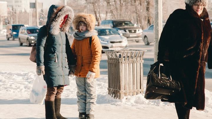На Тюмень надвигаются аномальные морозы (да, снова)