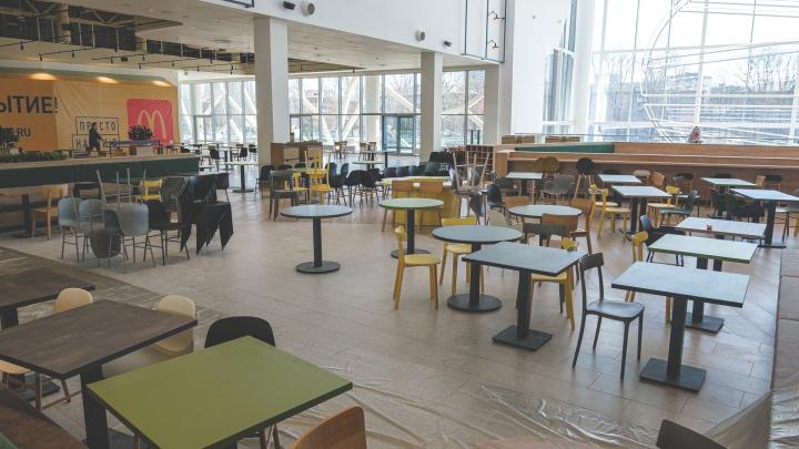 Власти Прикамья рассматривают возможность закрыть фуд-корты в торговых центрах