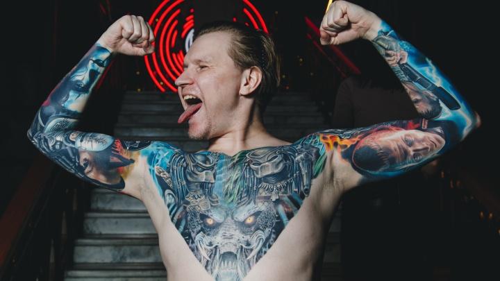 В Челябинске прошел конкурс татуировки: смотрим, как люди превратили свои тела в произведения искусства