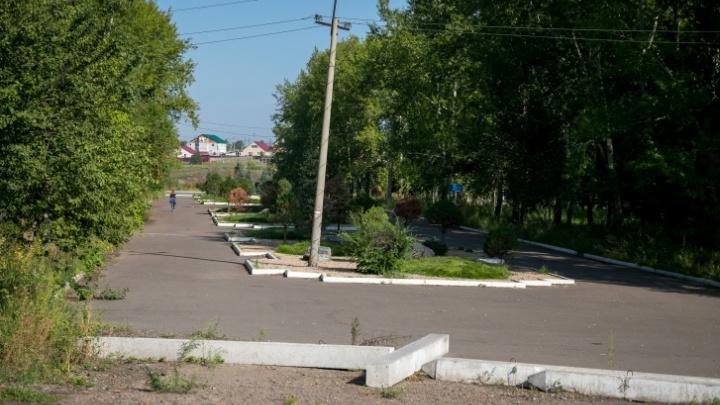 Лежаки и пешеходные дорожки: что появится в запущенном парке на Мясокомбинате