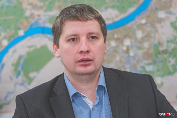 Дмитрий Андреев занимает должность главы управления по экологии и природопользованию администрации Перми