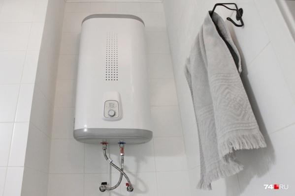 А у вас в квартире есть водонагреватель?