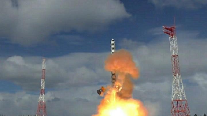 В Красноярском крае готовятся испытать межконтинентальную ракету «Сармат»