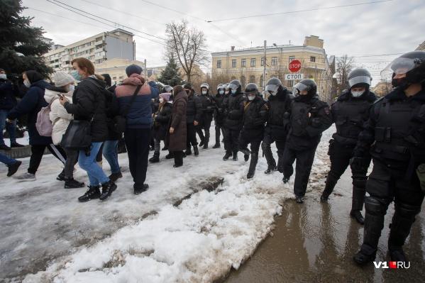 Большинство митингующих к этому часу уже разошлись по домам