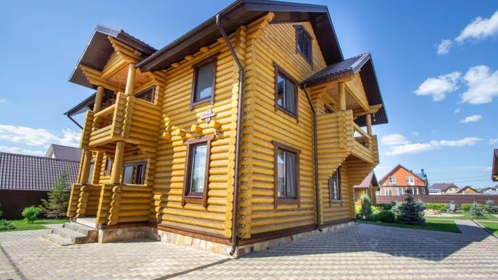 Под Уфой выставили на продажу экоусадьбу за 64 миллиона рублей. Смотрим, что внутри