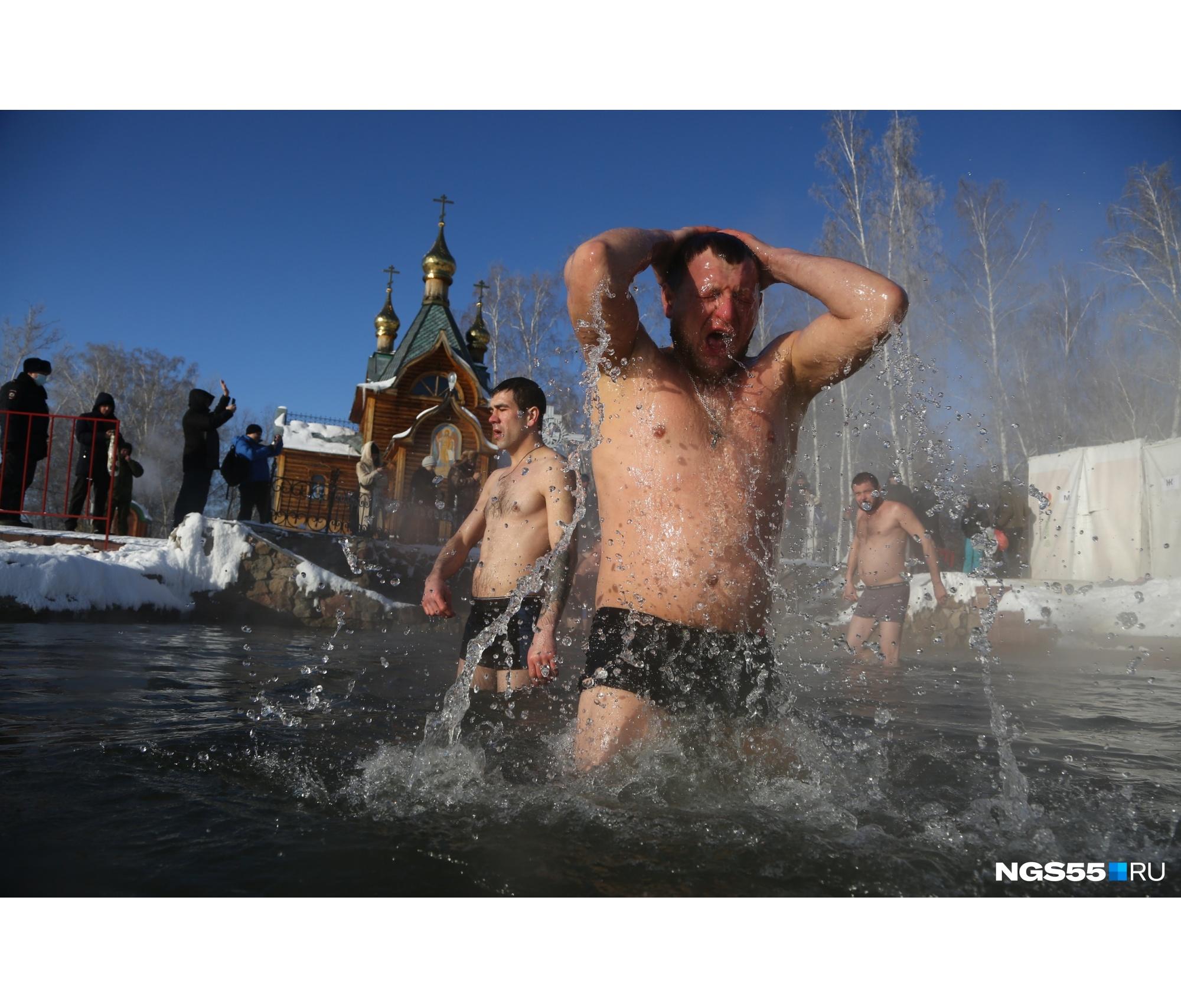 Когда снаружи -25 градусов, оказаться в теплой воде очень радостно