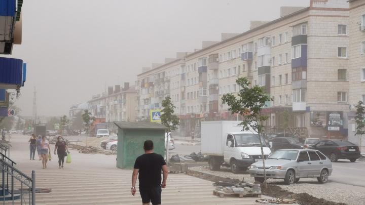 Не то чтобы буря, но ветер поднялся мощный: на Урюпинск обрушилась обещанная синоптиками непогода