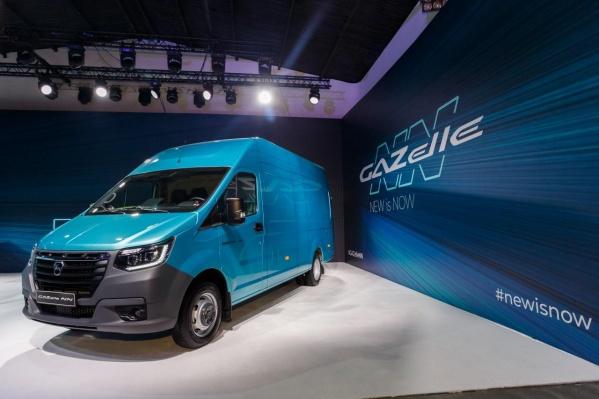 «ГАЗель NN» позиционируется как родоначальник нового поколения автомобилей марки ГАЗ