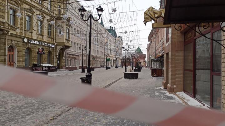 Город, который выспался: как выглядит Нижний Новгород утром 1января