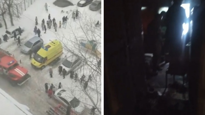 «Я думал, что ребенок умер»: случайный тюменец спас из горящей высотки двух человек