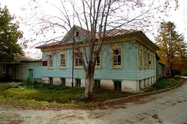 Дом построен в 1880 году